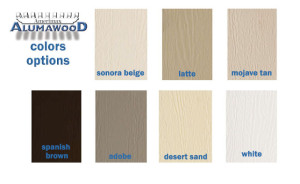 Alumawood Colors